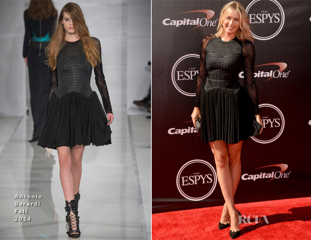 Maria Sharapova In Antonio Berardi - 2014 ESPY Awards
