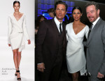 Matthew McConaughey In Dolce & Gabbana & Camila Alves In Kaufmanfranco - 30th Annual Television Critics Association Awards
