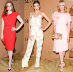 Max Mara Event Celebrates Amy Adams As The Face Of The Autumn Winter 2014 Accessories Campaign