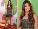 Megan Fox In Dolce & Gabbana - 2014 Nickelodeon Kids' Choice Sports Awards