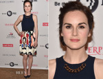Michelle Dockery In Victoria Beckham - 'Downton Abbey' Summer TCA Tour Photocall