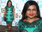 Mindy Kaling In Tadashi Shoji - Fox Summer TCA All-Star Party