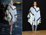 Miroslava Duma Front Row @ Fall 2014 Couture Fashion Week 9
