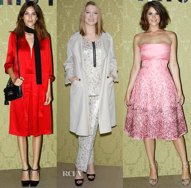 38962b7be1d Miu Miu Resort 2015 Front Row - Red Carpet Fashion Awards