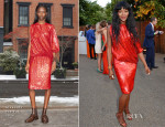 Naomi Campbell In Givenchy - The Serpentine Gallery Summer Party