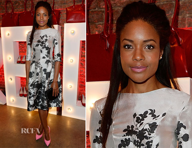 Naomie Harris In Vivienne Westwood - Virgin Atlantic's New Vivienne Westwood Uniform Collection Launch Party