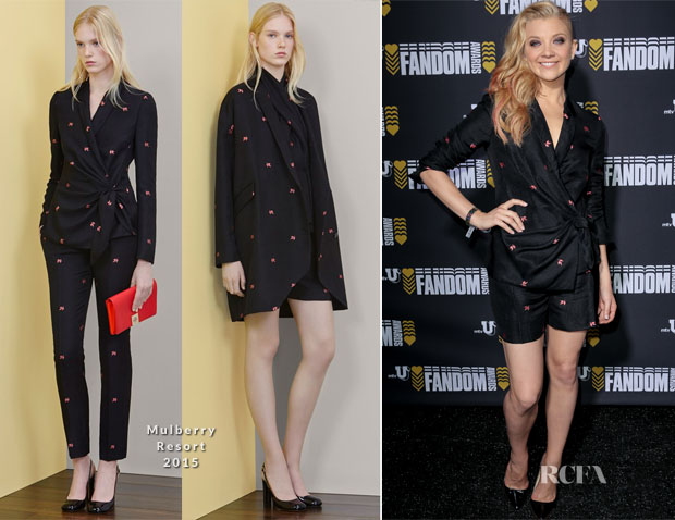 Natalie Dormer In Mulberry - mtvU Fandom Awards
