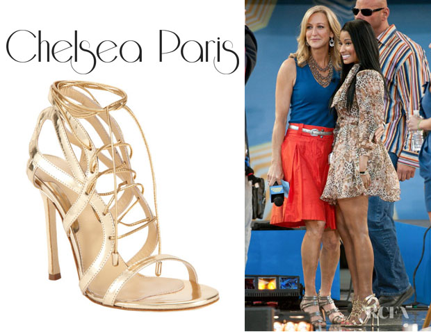 Nicki Minaj's Chelsea Paris 'Sosa' Sandals