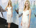 Nicola Peltz In Stella McCartney and Dolce & Gabbana - 'Transformers: Age of Extinction' Press Conference