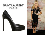 Nicola Peltz' Saint Laurent 'Janis' Pumps