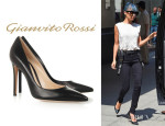 Nicole Richie's Gianvito Rossi Leather Pumps