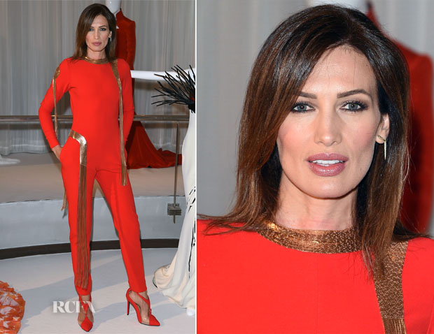 Nieves Alvarez In Stéphane Rolland Couture - Stéphane Rolland Fall 2014 Couture Presentation
