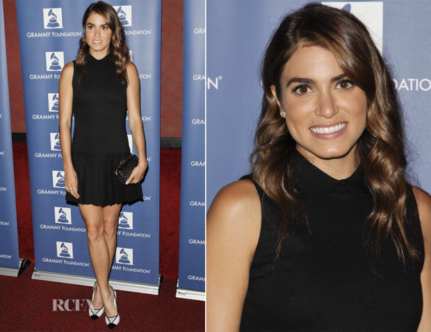 Nikki Reed In Alice + Olivia - GRAMMY Camp LA Launch Party