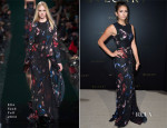 Nina Dobrev In Elie Saab - Bulgari Cocktail Event