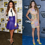 Nina Dobrev In J Mendel, Naeem Khan  Comic-Con 2014 & Entertainment Weekly's Annual Comic-Con Celebration