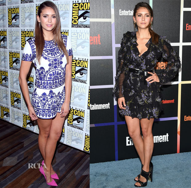Nina Dobrev In Naeem Khan & Michael Kors - Comic-Con 2014