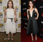 Odeya Rush In Monique Lhuillier & Honor - Comic-Con 2014 'The Giver' Panel & 'Sin City A Dame to Kill For' Party