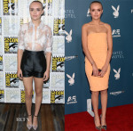 Olivia Cooke In Paper London & Sally LaPointe - Comic-Con 2014:  'Bates Motel'