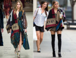 Olivia Palermo In Burberry Prorsum - Photo Shoot