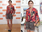 Olivia Palermo In Haute Hippie & Zara - Shutterfly By Design Event