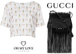 Poppy Delevingne In Oh My Love London & Gucci - Out In New York City