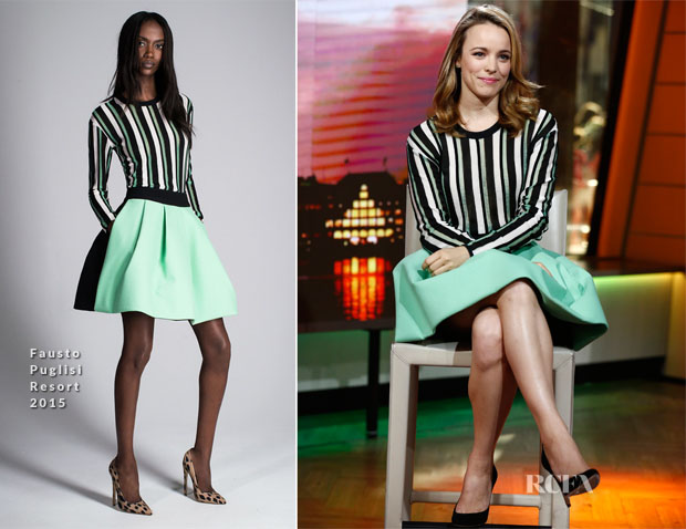 Rachel McAdams In Fausto Puglisi - The Today Show