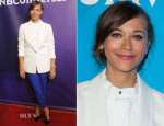 Rashida Jones In Madewell, J Brand & Celine - 2014 Television Critics Association Summer Press Tour
