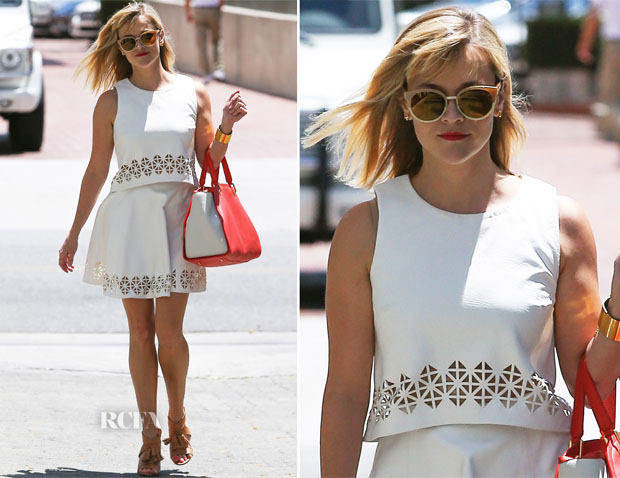 Reese Witherspoon In Monica Rose for Lovers + Friends - Out In LA