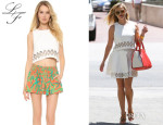 Reese Witherspoon's Lovers + Friends 'Monica Rose Lucia' Crop Top