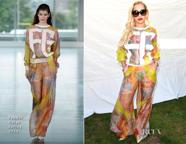 Rita Ora In Fyodor Golan - Wireless Festival