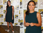 Rosario Dawson In Narciso Rodriguez - Comic-Con 2014: 'SinCity: A Dame To Kill For' Experience