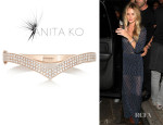 Rosie Huntington-Whiteley's Anita Ko 18-Karat Rose Gold Diamond Bracelet