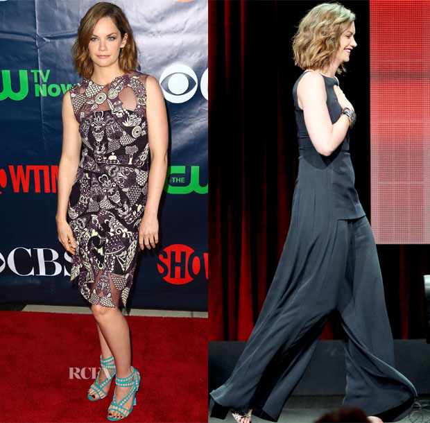 Ruth Wilson In Mary Katrantzou & Christian Dior - 2014 Summer Television Critics Association Press Tour