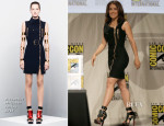 Salma Hayek In Alexander McQueen - Comic-Con 2014 'Everly' Presentation