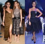 Selena Gomez In Emilio Pucci & Christian Dior - Leonardo DiCaprio Foundation Gala