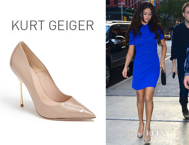 Selena Gomez' Kurt Geiger London 'Britton' Pumps