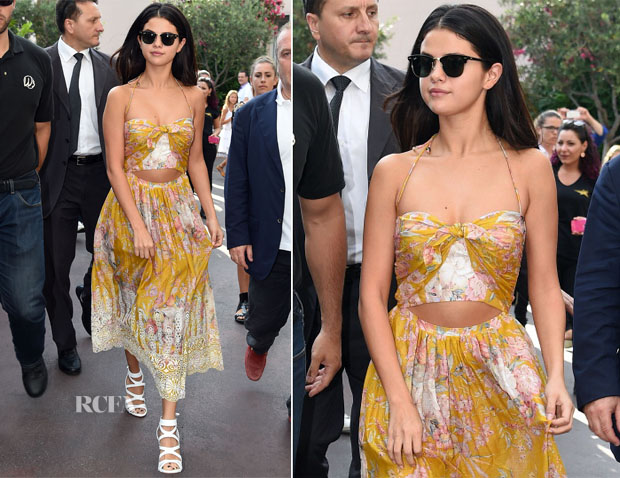 Selena Gomez' Zimmermann Dress Ischia Global Film and Music Festival Looks