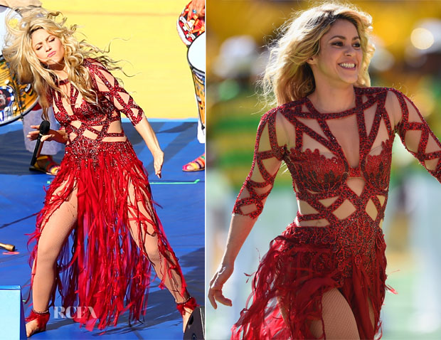 Shakira In Charbel Zoe - Germany v Argentina 2014 FIFA World Cup Brazil Final
