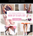 Shoescribe Spring/Summer Sale: Get Up To 60% Off