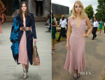 Suki Waterhouse In Burberry Prorsum - The Serpentine Gallery Summer Party