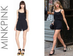 Taylor Swift's MinkPink 'See the World' Crepe Romper