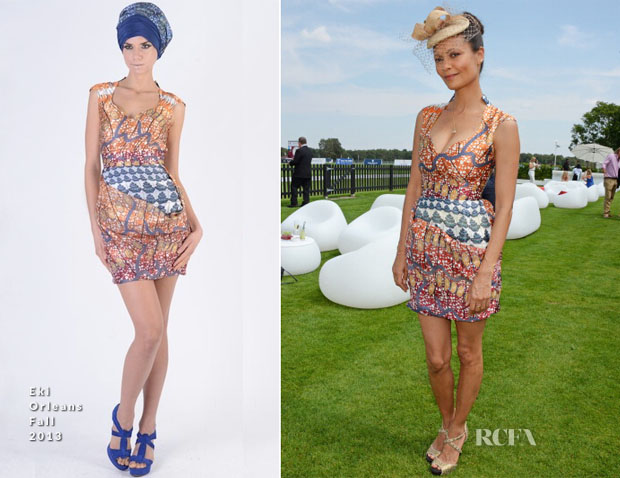 Thandie Newton In Eki Orleans - Audi International Event