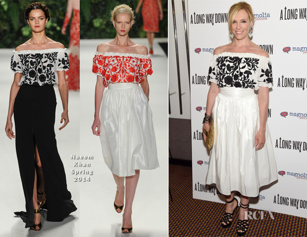 Toni Collette In Naeem Khan - 'A Long Way Down' New York Premiere