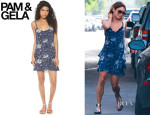 Vanessa Hudgens' Pam & Gela 'Stevie' Dress