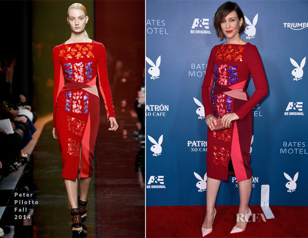 Vera Farmiga In Peter Pilotto - Entertainment Weekly's Annual Comic-Con Celebration