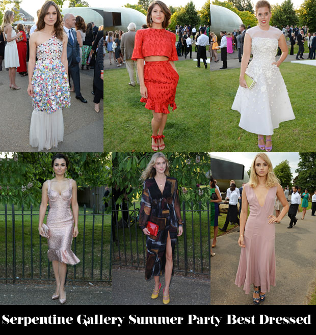 Who Was Your Best Dressed At The Serpentine Gallery Summer Party