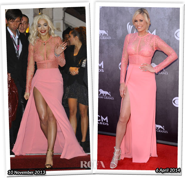 Who Wore Elie Saab Better...Rita Ora or Sarah Davidson?