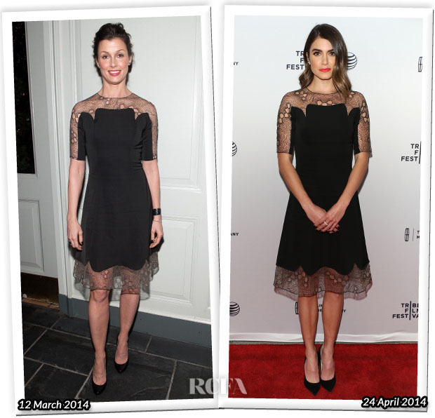 Who Wore Lela Rose Better Bridget Moynahan or Nikki Reed