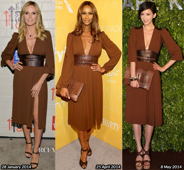 Who Wore Michael Kors Better Heidi Klum, Iman or Chiling Lin