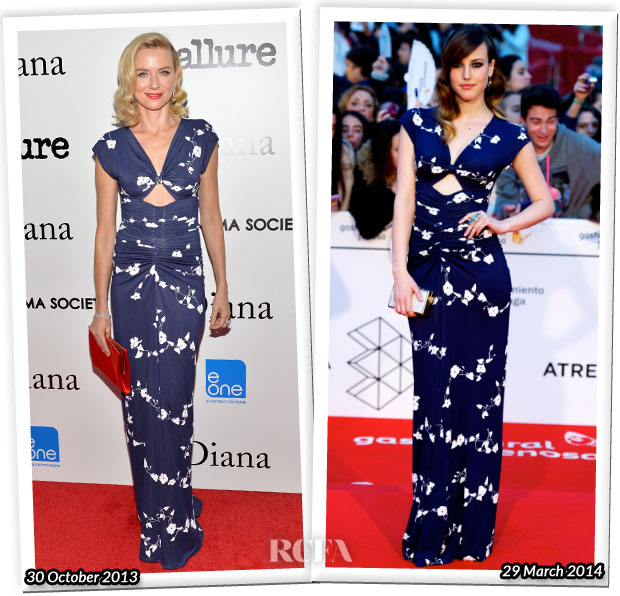 Who Wore Michael Kors Better Naomi Watts or Natalia de Molina